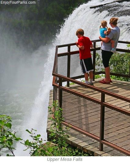 Upper Mesa Falls, Mesa Falls Scenic Byway, Idaho