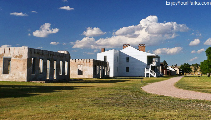 Fort Laramie National Historic Site in Wyoming
