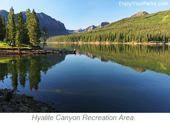 Hyalite Canyon Recreation Area, Montana