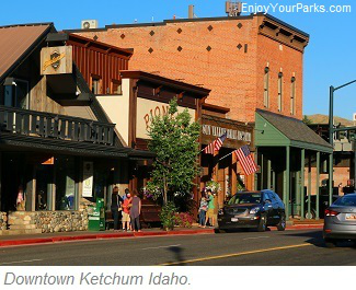 Downtown Ketchum Idaho