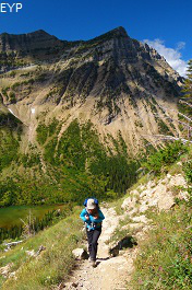 Crypt Lake Trail, Waterton Lakes National Park