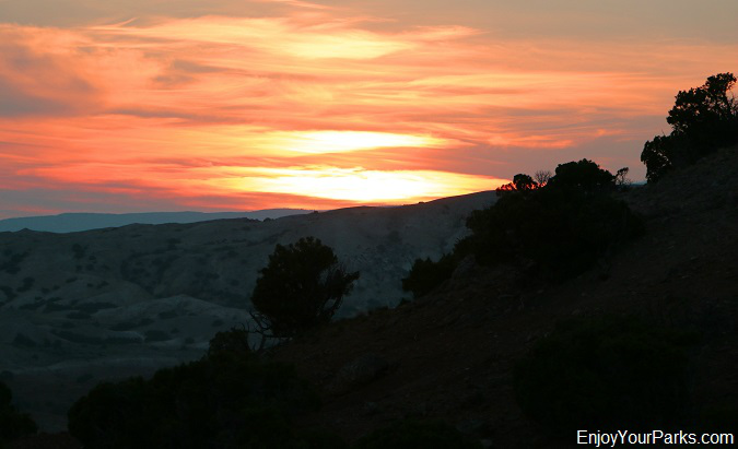 Sunset, Bighorn Canyon National Recreation Area