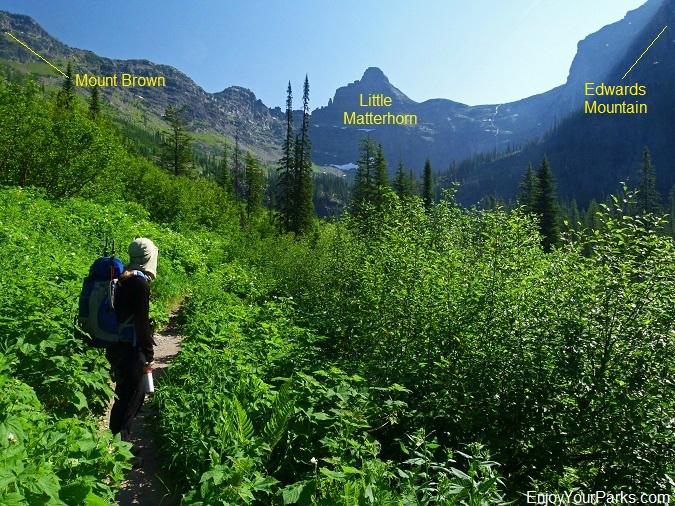 Snyder Lake Trail, Glacier National Park
