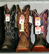Cowboy boots, Casper Wyoming
