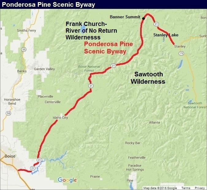 Ponderosa Pine Scenic Byway, Idaho
