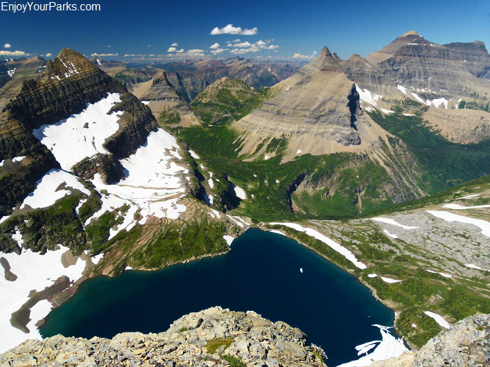Mount Kipp Summit View, Glacier National Park
