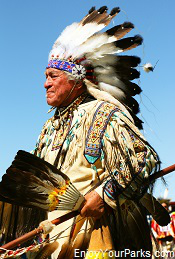 Native American Chief, Eastern Shoshone Indian Days, Fort Washakie Wyoming