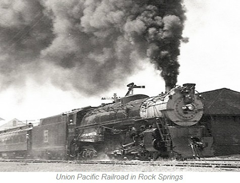 Union Pacific Railroad, Rock Springs Wyoming