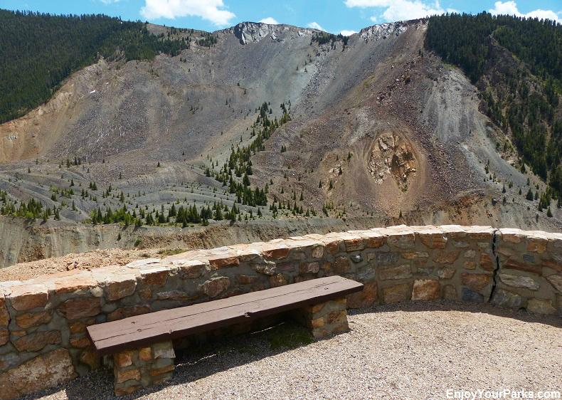 Earthquake Lake Geologic Area, Montana