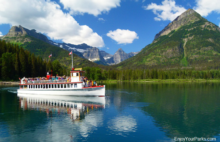 Waterton Lake Boat Tour, Goat Haunt, Glacier National Park