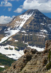 Mount Stimson Glacier National Park