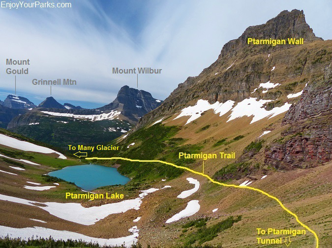 Ptarmigan Tunnel Trail, Glacier National Park