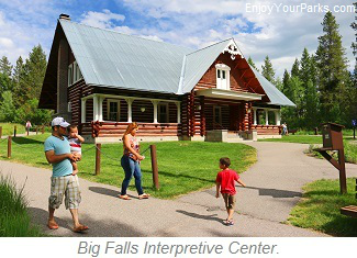 Big Falls Interpretive Center, Upper Mesa Falls, Mesa Falls Scenic Byway, Idaho