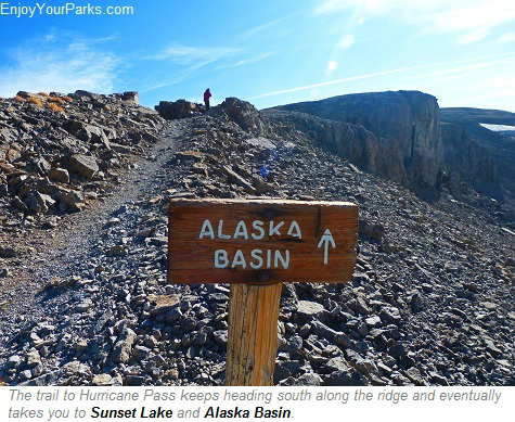 Hurricane Pass, Alaska Basin, Grand Teton National Park