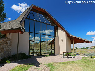 Visitor Center, Makoshika State Park Montana