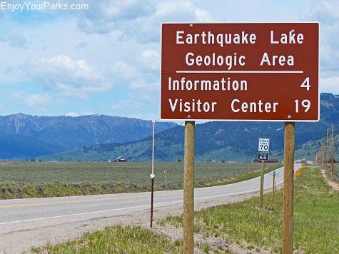 Earthquake Lake Geologic Area