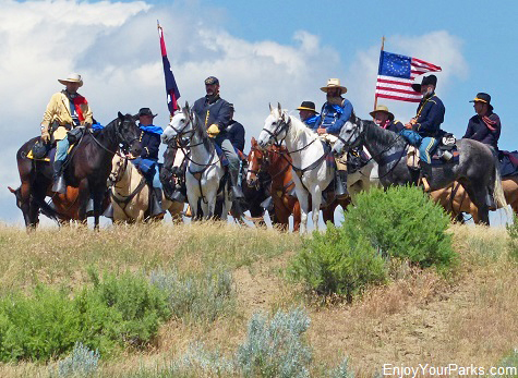 Little Bighorn Battle Re-enactment