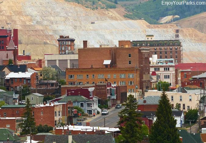 Butte National HIstoric Landmark District, Butte Montana