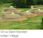 On-A-Slant Mandan Indian Village, Fort Abraham Lincoln State Park, North Dakota
