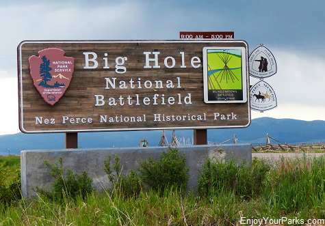 Big Hole National Battlefield, Nez Perce National Historic Park, Montana