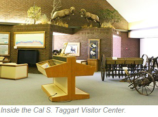 Cal S. Taggart Visitor Center, Bighorn Canyon National Recreation Area