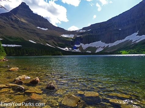 Old Man Lake, Dawson-Pitamakan Trail Loop, Glacier National Park
