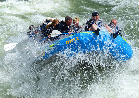 Whitewater Rafting in the Snake River Canyon, Wyoming