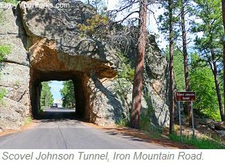 Scovel Johnson Tunnel, Iron Mountain Road, South Dakota
