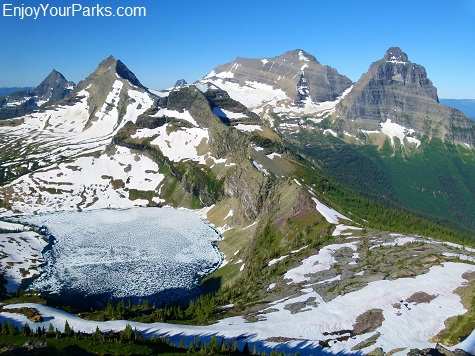 Boulder Peak, Boulder Pass Trail, Glacier National Park