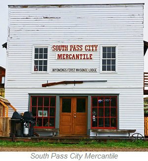 South Pass City Mercantile, Wyoming