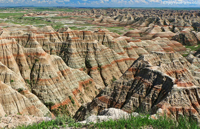 Badlands National Park of South Dakota