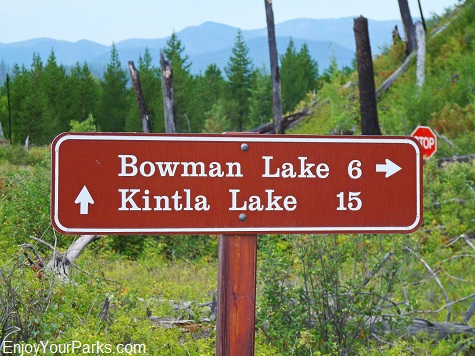 Bowman Lake - Kintla Lake, Polebridge Area, Glacier National Park