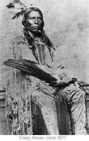 Crazy Horse, circa 1877