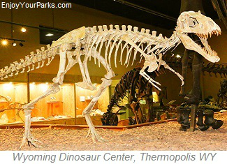 Wyoming Dinosaur Center, Thermopolis Wyoming