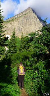 Swiftcurrent Pass Trail, Glacier National Park