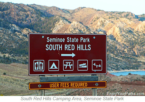 South Red Hills Camping Area, Seminoe State Park, Wyoming