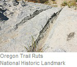 Oregon Trail Ruts, National Historic Landmark