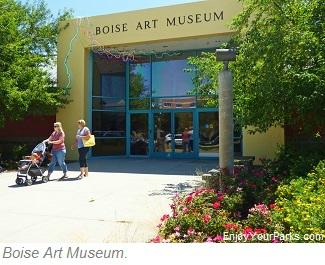 Boise Art Museum, Julia Davis Park, Boise Idaho