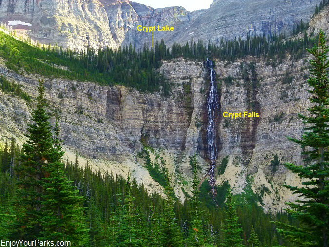 Crypt Falls, Waterton Lakes National Park