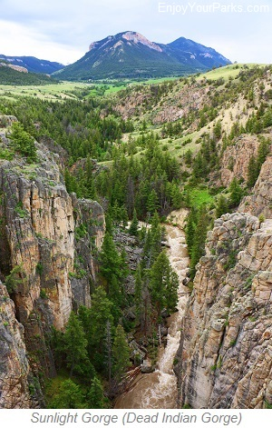 Sunlight Gorge, Chief Joseph Scenic Byway, Wyoming