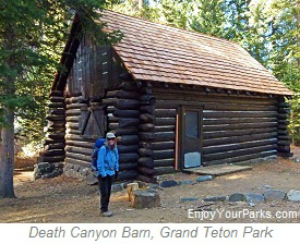 Death Canyon Barn, Grand Teton National Pakr