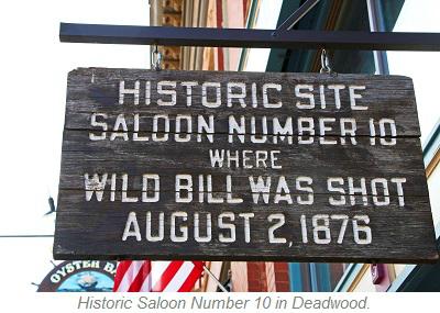 Saloon Number 10, Deadwood South Dakota