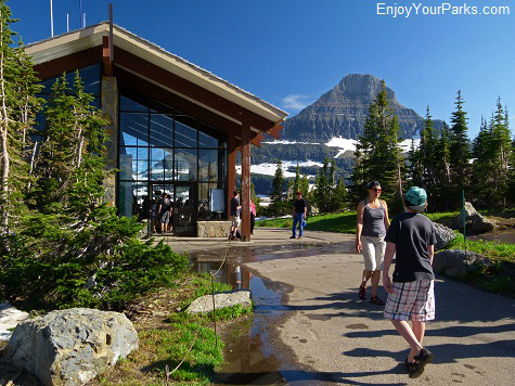 Logan Pass Visitor Center, Going To The Sun Road, Glacier National Park