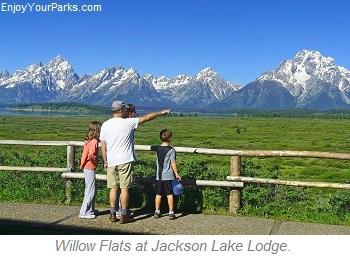Willow Flats at Jackson Lake Lodge, Grand Teton National Park
