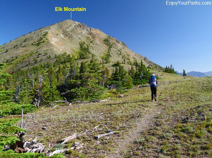 Elk Mountain Trail, Glacier National Park