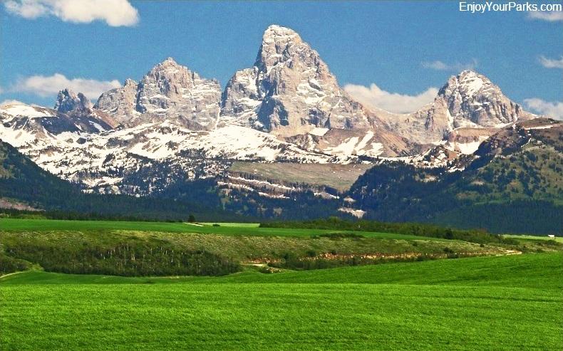 Teton Mountain Range, Teton Scenic Byway, Idaho