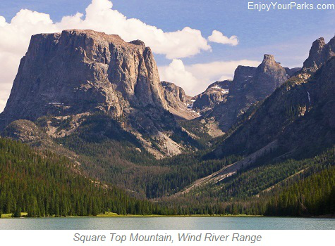 Square Top Mountain, Wind River Range, Wyoming