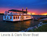 Lewis and Clark River Boat, Bimark North Dakota
