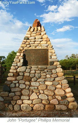 "John ""Portugee"" Memorial,Fetterman Massacre, Wyoming"
