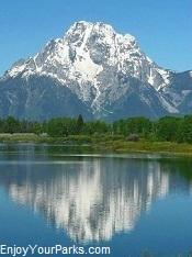 Mount Moran, Grand Teton National Park Wyoming